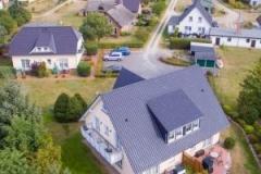 Luftbild Gästehäuser Heuer